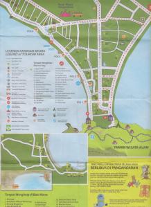 peta pangandaran 1